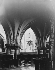 Eglise Saint-Martin - Notre-Dame de Pitié, vue diagonale