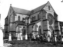 Ancienne abbaye cistercienne - Eglise, ensemble nord-ouest