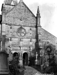 Eglise Saint-Rémy - Façade ouest