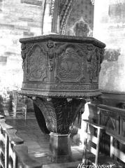 Eglise Saint-Rémy - Chaire