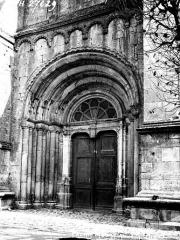 Ancienne abbaye - Palais abbatial, portail