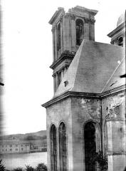 Ancienne abbaye Sainte-Marie-Majeure ou des Prémontrés ou ancien petit séminaire - Eglise. Clocher