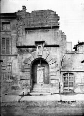 Hôtel de Princerie, actuellement musée - Portail