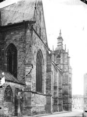 Eglise Saint-Etienne - Façade latérale
