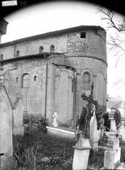 Eglise - Abside au sud