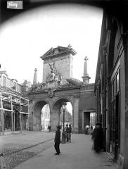 Porte Saint-Nicolas - Revers