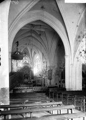 Eglise Saint-Juvin - Nef, vue de l'entrée