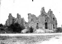 Eglise (ruines) - Ensemble nord-ouest