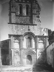 Eglise Saint-Nazaire - Façade ouest