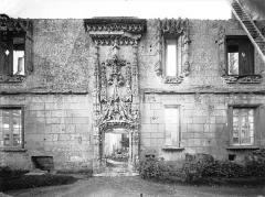 Château - Façade nord, cour d'honneur