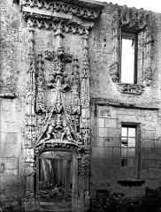 Château - Façade nord, cour d'honneur, portail