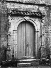 Château - Façade ouest, portail