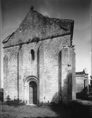 Eglise Saint-Vivien£ - Façade ouest