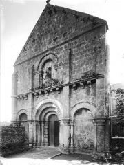 Eglise Saint-Barthélémy - Façade ouest