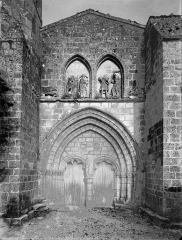 Eglise Saint-Symphorien - Façade ouest