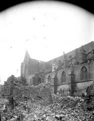 Eglise de Rembercourt - Façade latérale