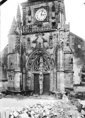 Eglise de Beauzée-sur-Aire - Portail ouest