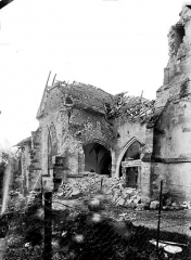 Eglise de Beauzée-sur-Aire - Façade latérale