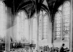 Ancienne abbaye Saint-Léger - Intérieur, la salle capitulaire