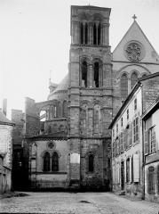Eglise Notre-Dame-en-Vaux et son cloître - Clocher est