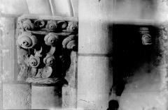 Eglise Notre-Dame-en-Vaux et son cloître - Chapiteau