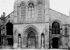 Eglise Saint-Alpin - Façade ouest