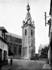 Eglise Saint-Wasnon - Clocher