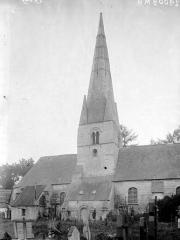 Eglise Saint-Martin - Côté nord et clocher
