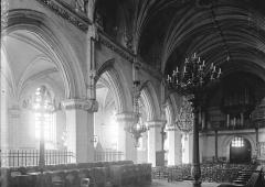Eglise Saint-Saulve - Nef et bas-côté sud vus du choeur