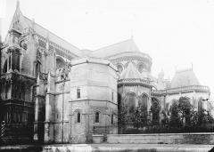 Collégiale, puis cathédrale Notre-Dame, actuellement église paroissiale Notre-Dame - Côté sud-ouest