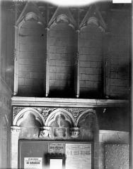 Collégiale, puis cathédrale Notre-Dame, actuellement église paroissiale Notre-Dame - Arcatures