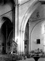 Eglise Notre-Dame (ancienne cathédrale) - Intérieur : vue diagonale