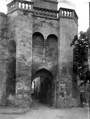 Porte de la Saunerie - Côté intérieur
