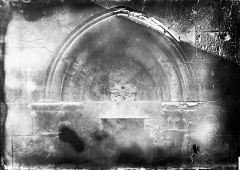 Eglise - Portail ouest: tympan