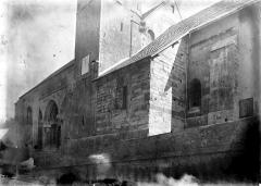 Eglise - Façade sud: partie