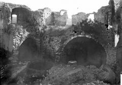 Château des Templiers - Intérieur: ruines