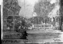 Cathédrale  dite église Notre-Dame-du-Bourg - Peintures murales: vestiges
