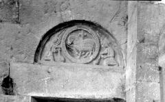 Cathédrale  dite église Notre-Dame-du-Bourg - Fonts baptismaux
