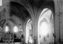 Eglise - Choeur et bas-côté sud