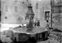 Fontaine Saint-Michel - Vue d'ensemble