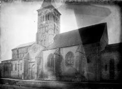 Eglise Saint-Menoux - Ensemble nord