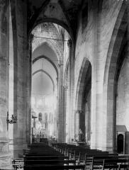 Eglise Saint-Menoux - Nef vue de l'entrée