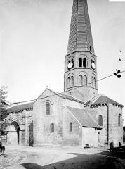 Eglise Saint-Martin - Ensemble sud-est, clocher