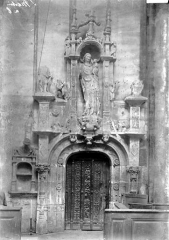 Ancienne abbaye - Porte intérieure