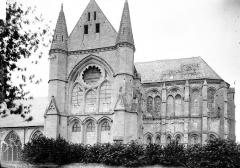 Ancienne abbaye Saint-Léger - Eglise: côté sud