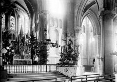 Ancienne abbaye Saint-Léger - Eglise: transept et choeur