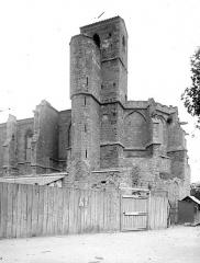 Ancienne église Notre-Dame du Bourg de Lamourgnié - Abside et clocher