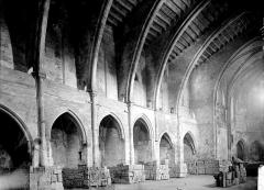 Ancienne église Notre-Dame du Bourg de Lamourgnié - Nef vue de l'entrée