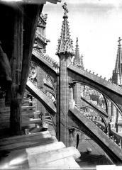 Cathédrale Notre-Dame - Arcs-boutants du choeur