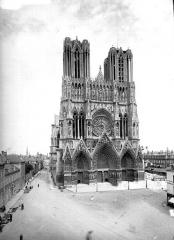 Cathédrale Notre-Dame - Ensemble ouest